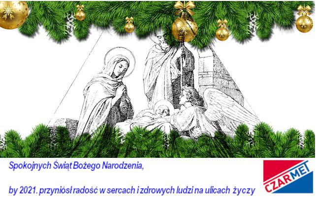 Spokojnych Świąt Bożego Narodzenia i zdrowych ludzi na ulicach…