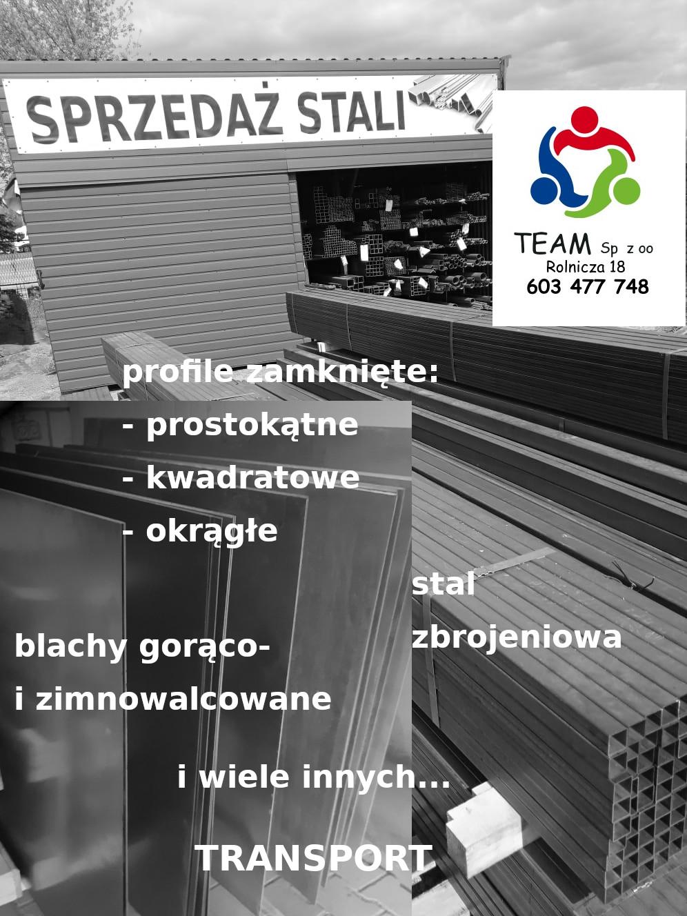 Team Tomaszów – skład partnerski firmy CZARMET w Tomaszowie Lubelskim